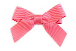 Small Bow Louise - Coral