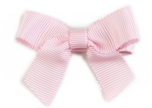 Small Bow Louise - Light Pink