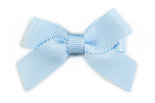 Small Bow Louise - Pastel Blue