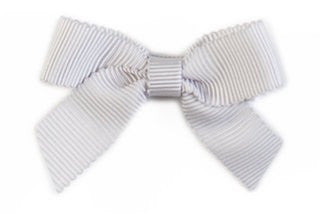 Small Bow Louise - Grey