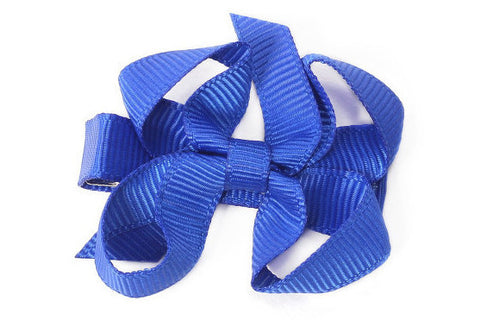 Small Electric Blue Bow