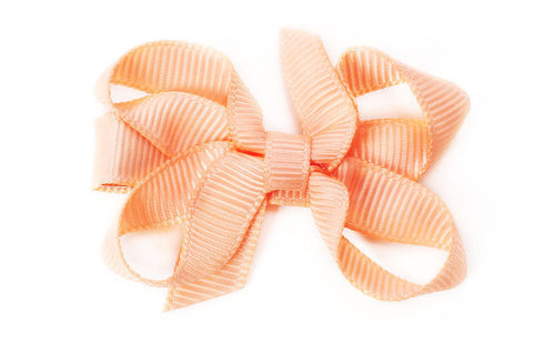 Small Peach Bow