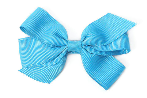 Medium Turquoise Blue Bow
