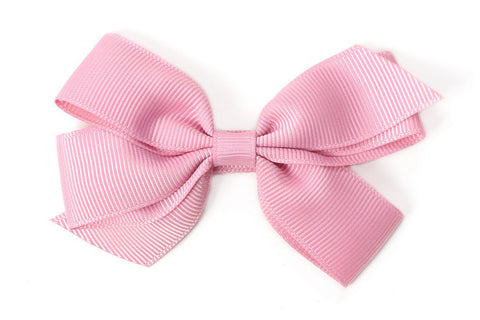 Medium Quartz Pink Bow