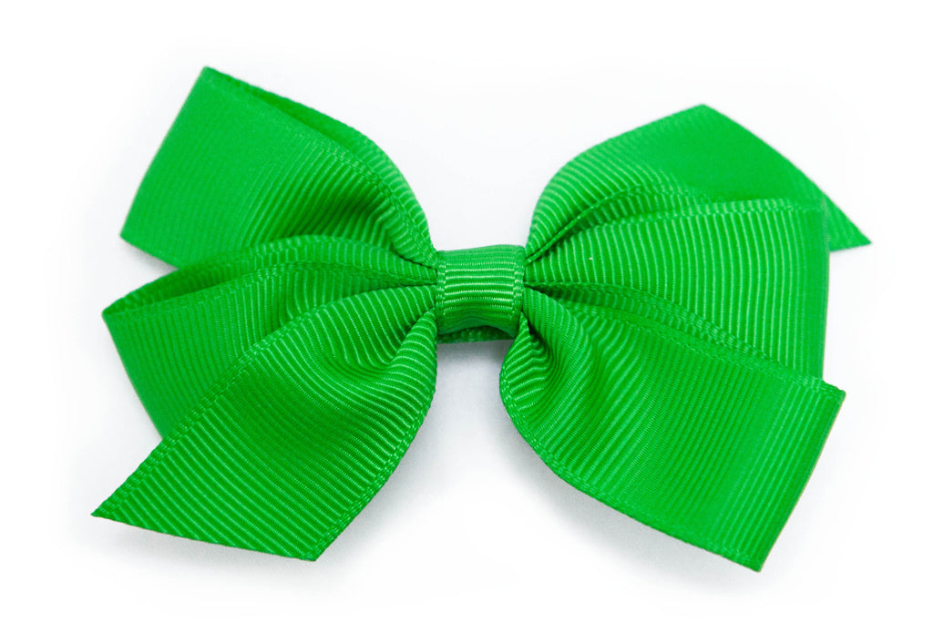 Medium Emerald Green Bow