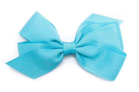 Medium Light Turquoise Bow