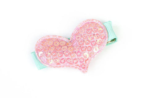 Sparkle Heart Pink