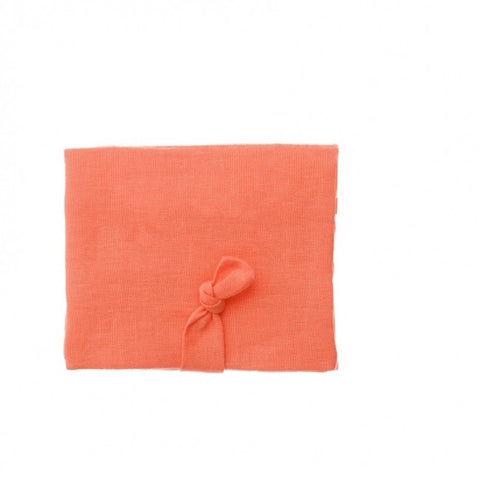 Hair Clips Purse - Coral