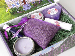 Luxe Lavender Gift Box