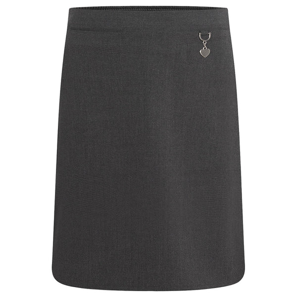 Zeco Skirt Stretch Heart - Grey