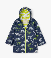 Hatley Dino Fossils Colour Changing Splash Jacket