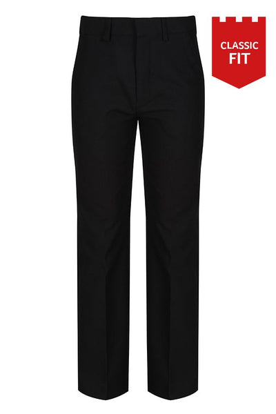 Trutex Junior Boys Classic Fit Trouser - Black (CFJ-BLK)