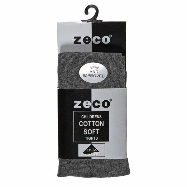Zeco Tights Cotton Single Pack - Charcoal