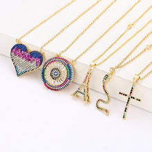 Load image into Gallery viewer, Rainbow Pendants - Feminarum Jewelry