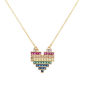 Rainbow Pendants - Feminarum Jewelry
