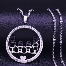Load image into Gallery viewer, Family Pendant - Feminarum Jewelry