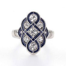 Load image into Gallery viewer, Vintage Sapphire - Feminarum Jewelry