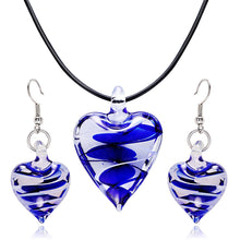 Load image into Gallery viewer, Glass Heart - Feminarum Jewelry
