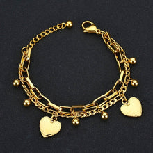 Load image into Gallery viewer, Heart Charms - Feminarum Jewelry