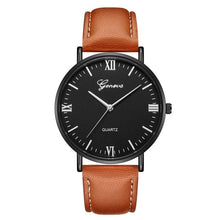 Load image into Gallery viewer, Military leather Wrist Watch