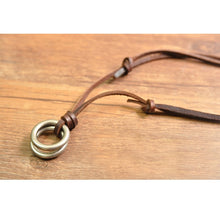 Load image into Gallery viewer, Leather Necklace - Feminarum Jewelry