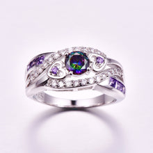 Load image into Gallery viewer, light Amethyst Ring - Feminarum Jewelry
