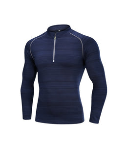 Men Quick Dry Cycling Base Layers T-shirt Long Sleeve Sport Top Sportswear Men Fitness Outdoor Running Clothing Training Top