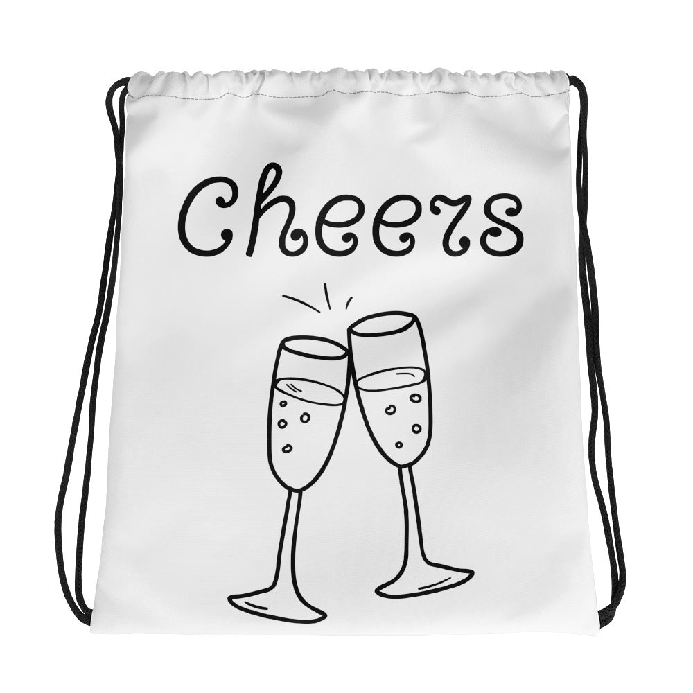 Cheers Drawstring bag