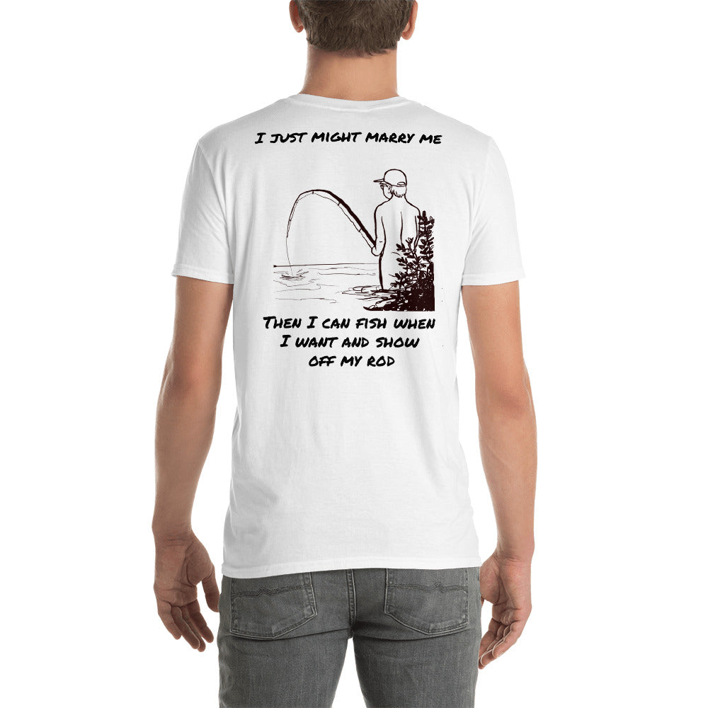 . Fishing rod Short-Sleeve Unisex T-Shirt