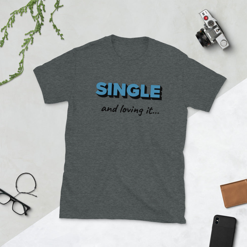 Single Short-Sleeve Unisex T-Shirt