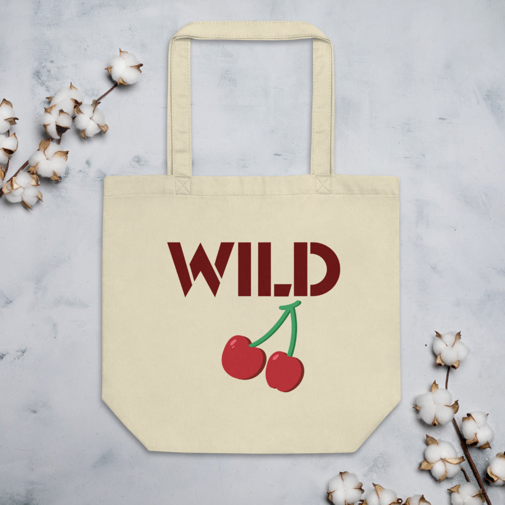 Wild cherry Eco Tote Bag