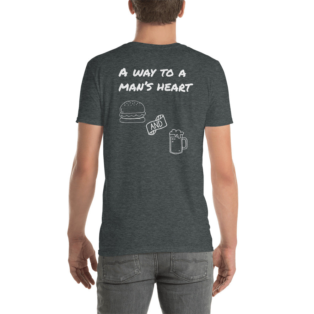 A way to a man's heart Short-Sleeve Unisex T-Shirt