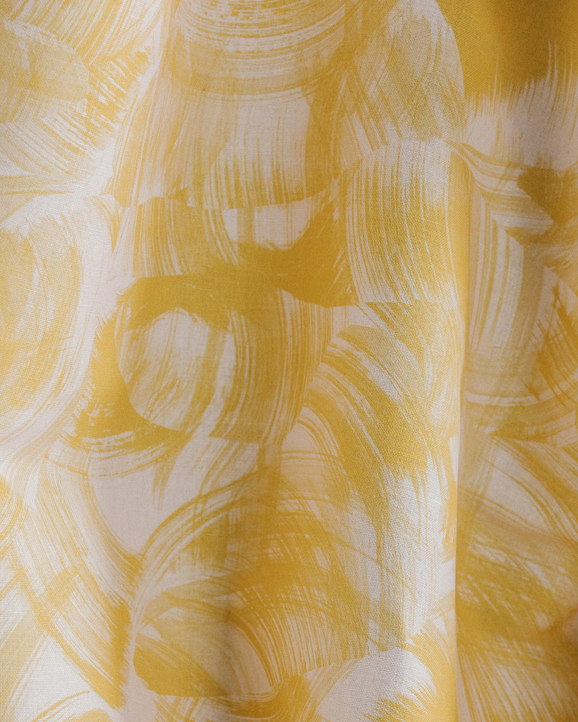 Cascade - Sunbeam Yellow Textural Fabric