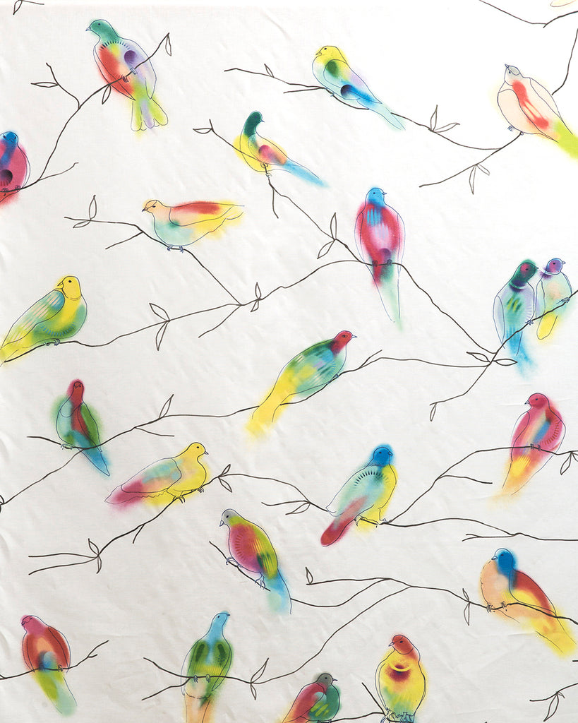 Fruit Doves - Palau Fabric