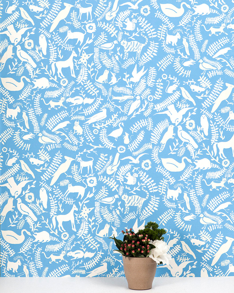 Greenpoint - Noble Blue Wallpaper