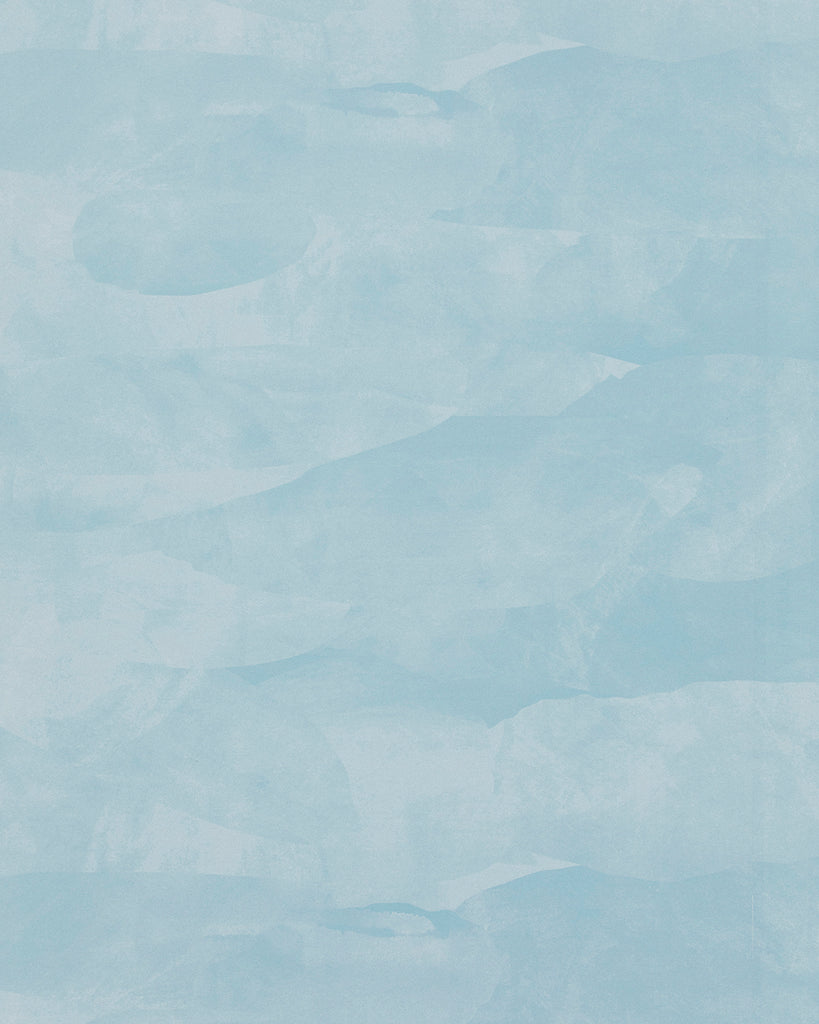 Landscape - Powder Blue Wallpaper