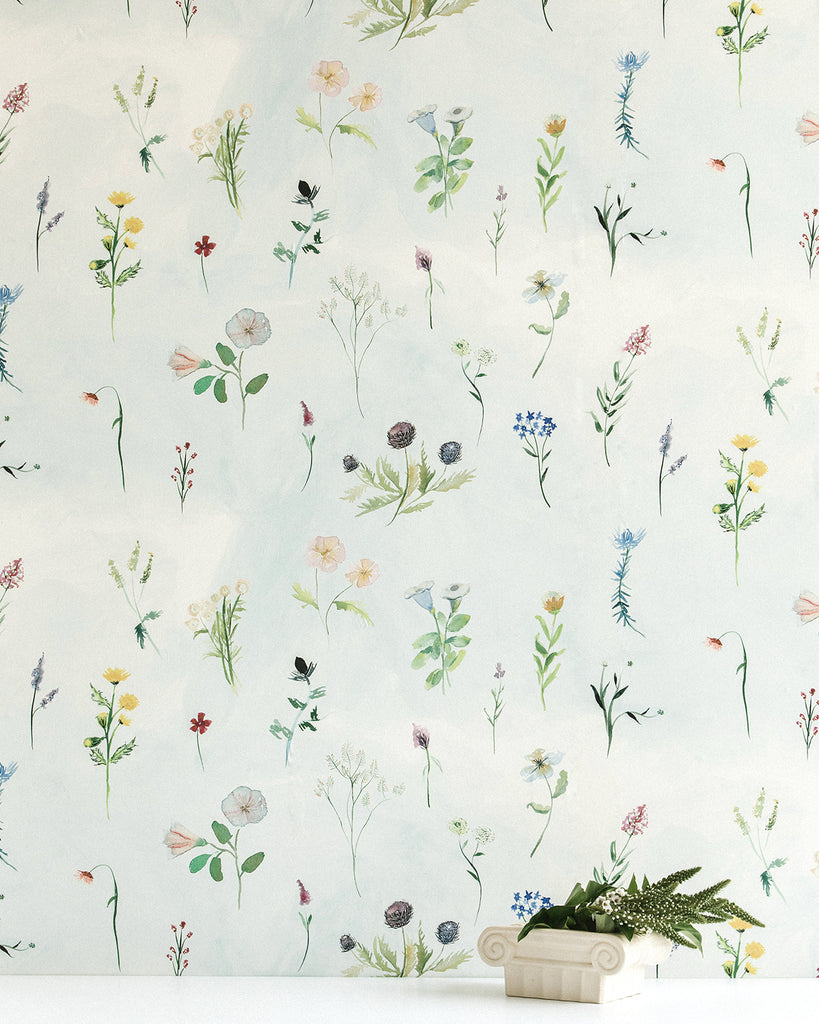Meadow - Bluestocking Wallpaper