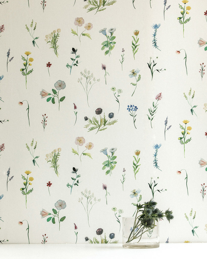 Meadow - Heliotrope Wallpaper