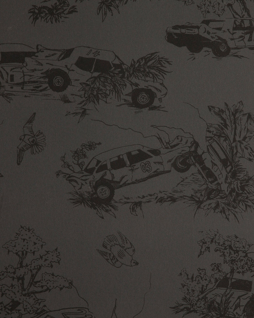 Toile de Derby - Burnt Rubber Wallpaper