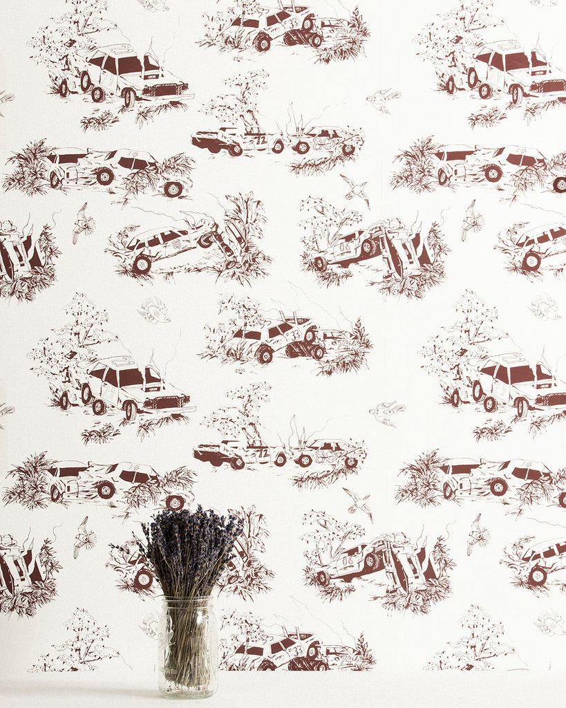 Toile de Derby - Modified Feature Wallpaper