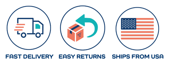Fast Shipping From US and Easy Returns