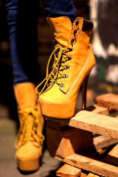 Exclusive Tan Z-Jo Boots - Footwear - XANA's Boutique