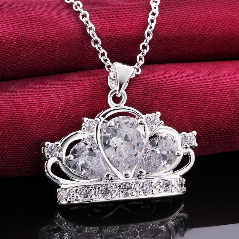 Princess Crown Necklace pendant