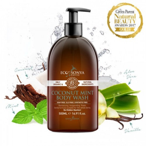 Eco by Sonya - Body Wash (Mint & Coconut)