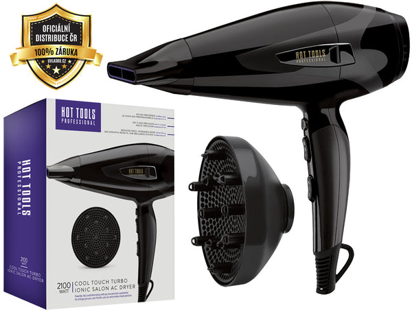 Hot Tools - Fén Cool Touch Turbo Ionic AC Dryer 2100W