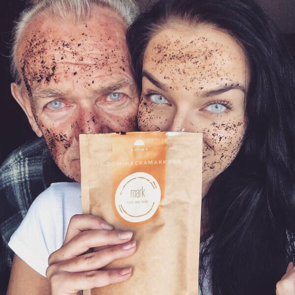 MARK - coffee scrub Citrus 200g