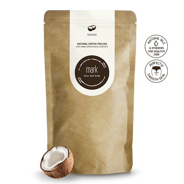 MARK - coffee scrub Coconut 200g