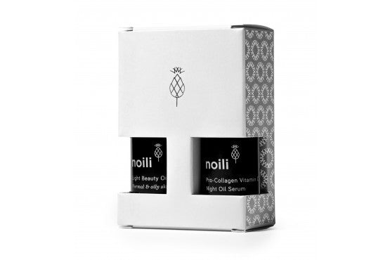 Noili - LIGHT TRAVEL KIT NA NORMÁLNU A MASTNÚ PLEŤ 2x15ml