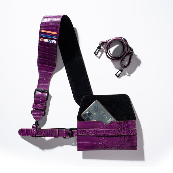 Seven Stories London - Harness Penny Purple