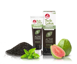 Twin Lotus - herbaliste Active Charcoal zubní pasta